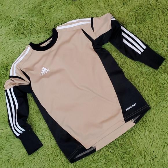 Padded Elbow Adidas LS Youth shirt